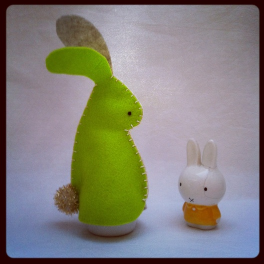 Sewyeah bunny egg cosy