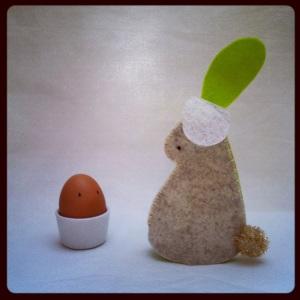 bunny egg cosy