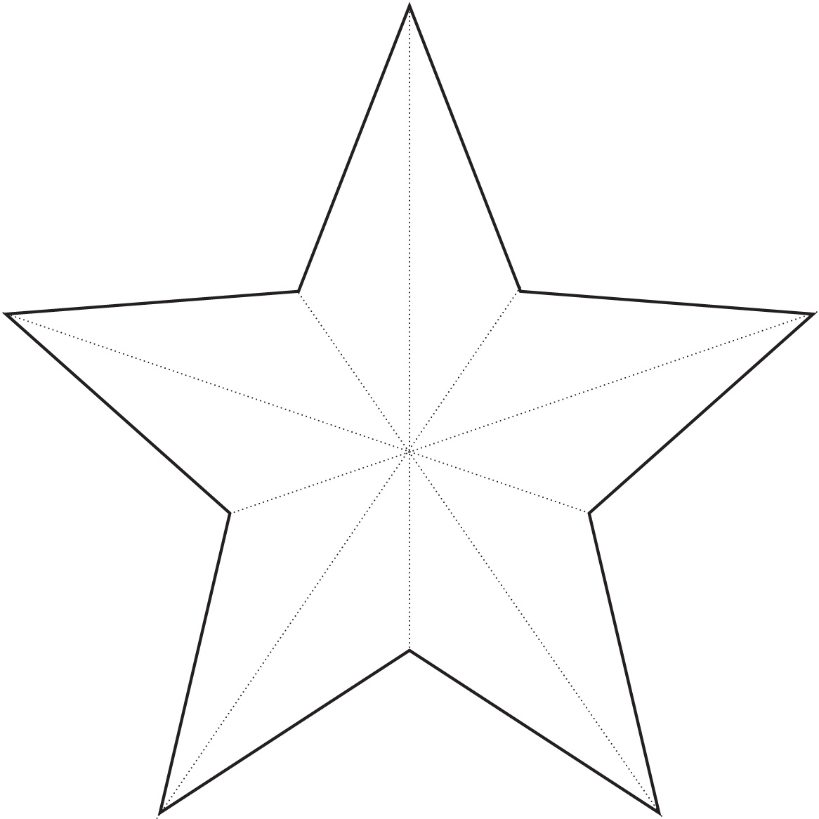 Christmas Star Templat...