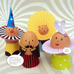 circus egg decorations1