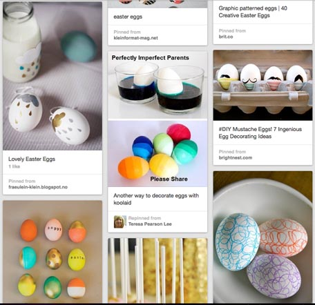 Pinterest egg ideas