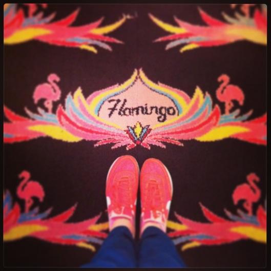 Flamingo arcade