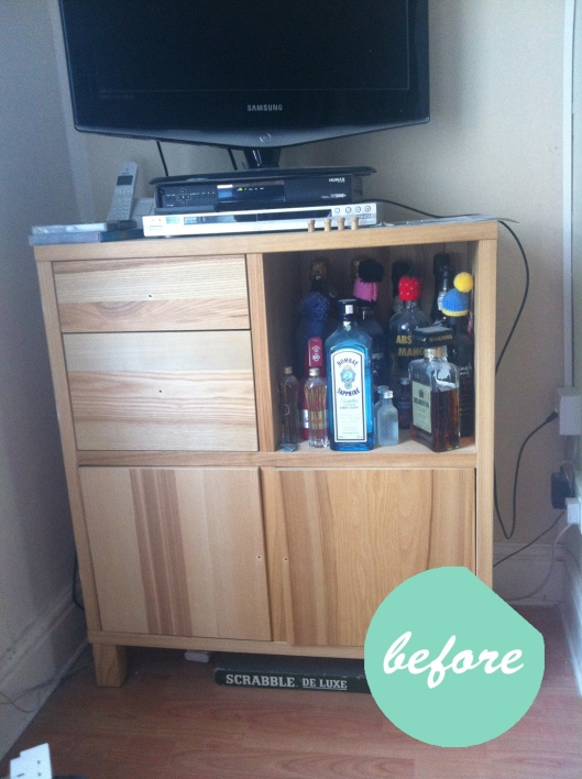 cabinet before