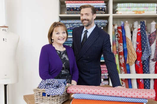 Programme Name: The Great British Sewing Bee - TX: n/a - Episode: n/a (No. n/a) - Picture Shows: (L-R) May Martin, Patrick Grant - (C) Love Productions - Photographer: Charlotte Medlicott